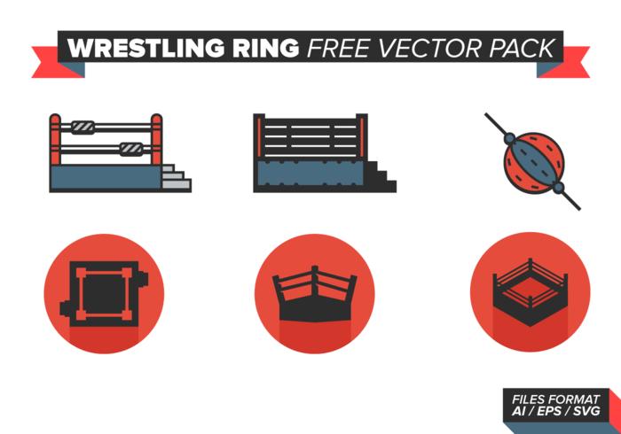Wrestling Ring Free Vector Pack