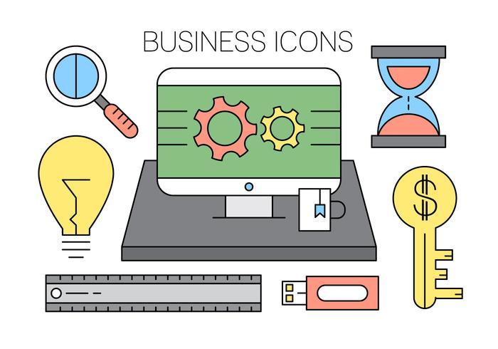Icônes Office gratuites vecteur