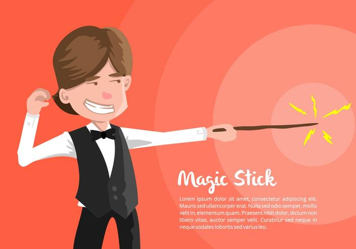 Illustration Magician vecteur