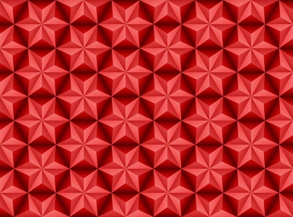 fond d'étoiles rouges vecteur