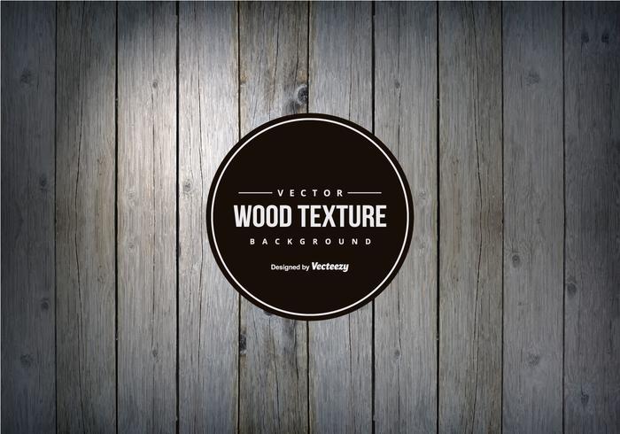 Dark Grey Wood Texture Background vecteur