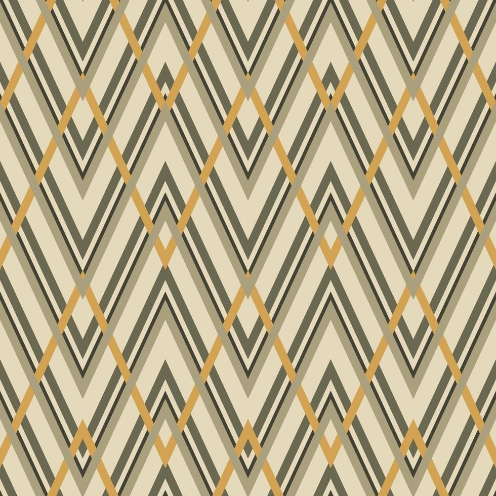 modèle sans couture de zigzag géométrique vecteur