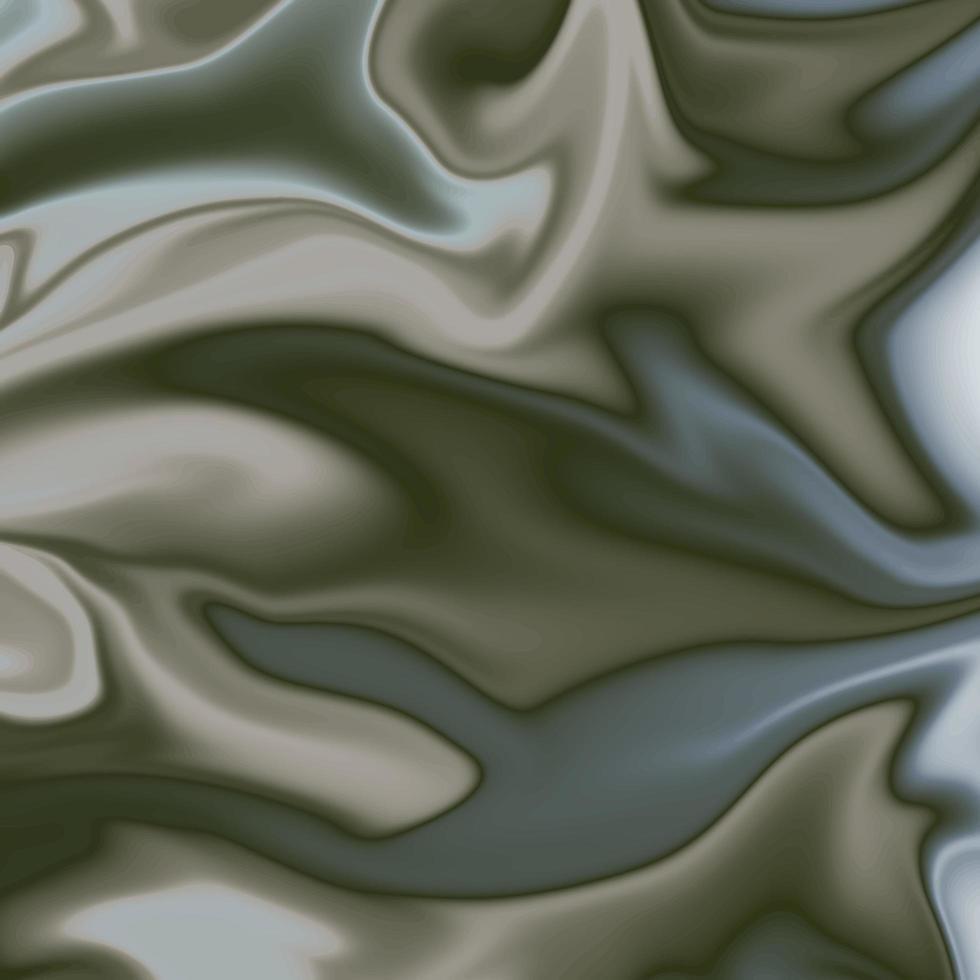 dégradé métallique abstrait tourbillonnant gris foncé vecteur
