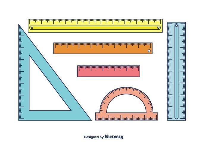 Rulers Vector Set