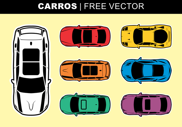 Carros vecteur libre