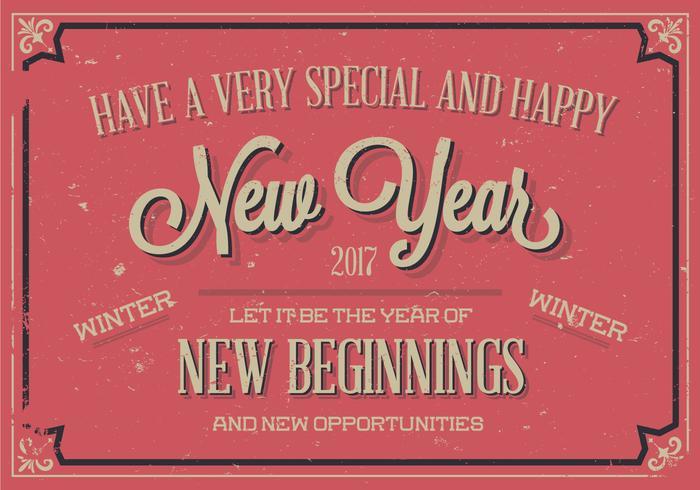Vecteur spécial Happy New Year