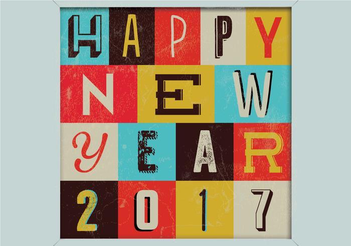 Happy New Year Sign vecteur