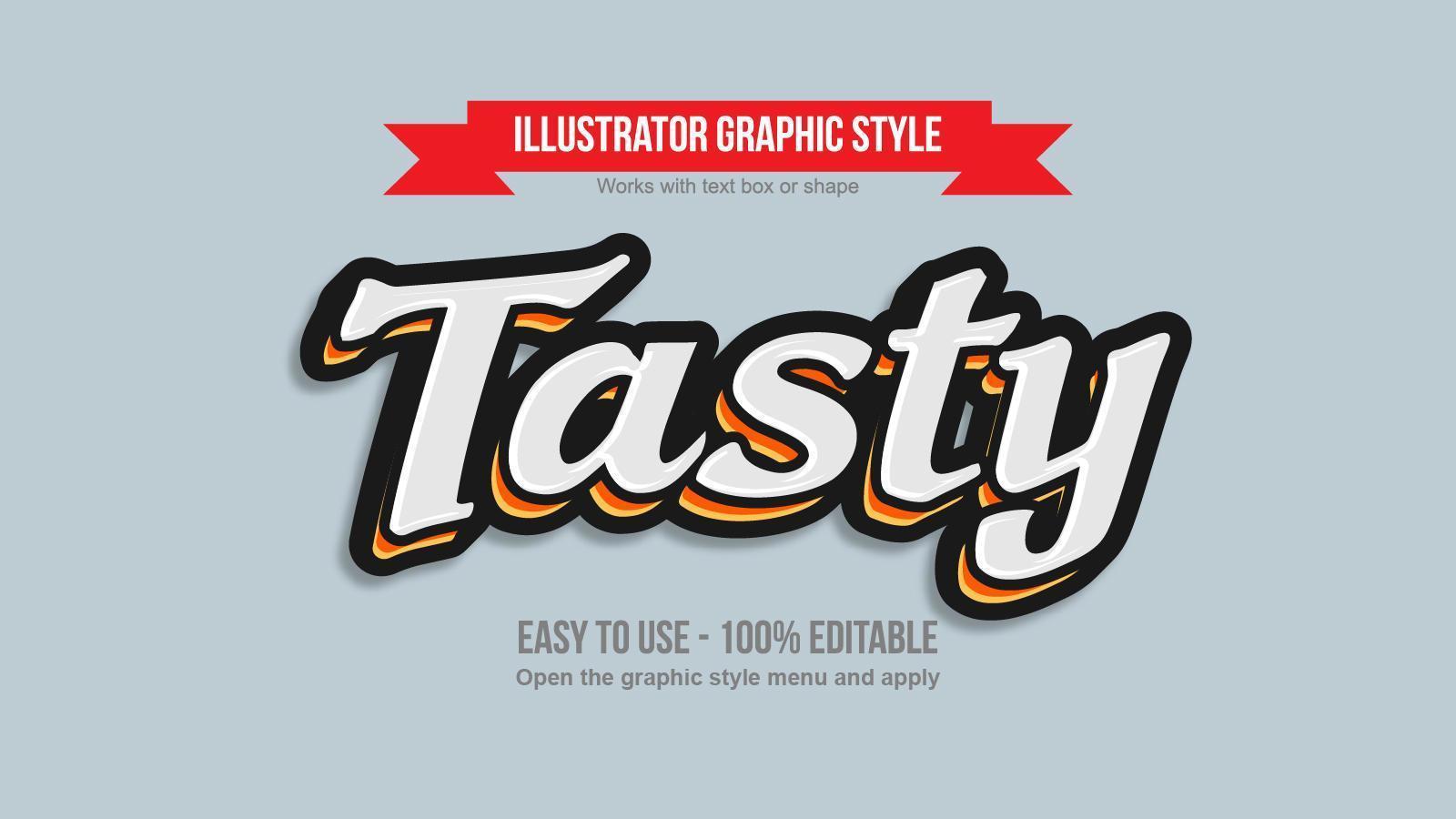 effet de texte 3d cursif blanc moderne avec contour coloré vecteur