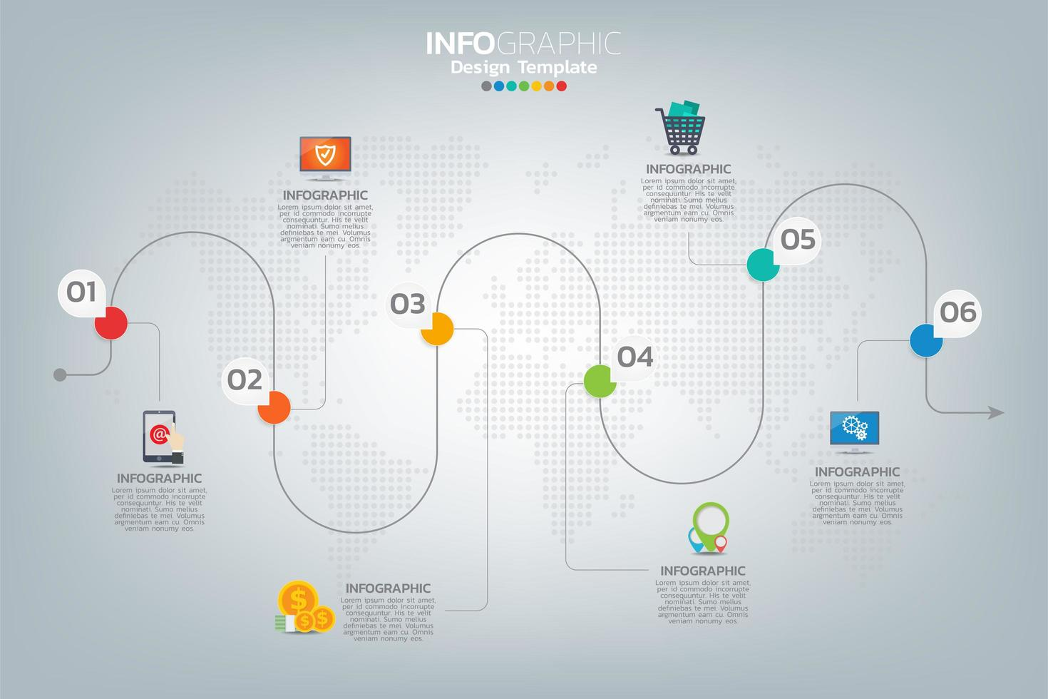 comment réussir infographie commerciale vecteur
