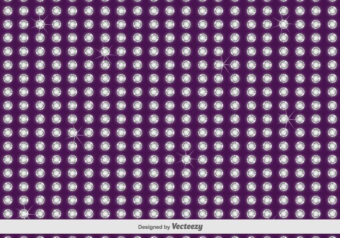 Violet strass Vector Motif