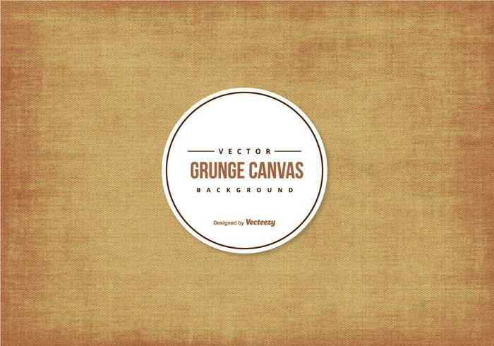 Grunge Canvas Texture Background vecteur