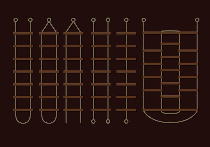 Rope Brown vecteurs Ladder vecteur