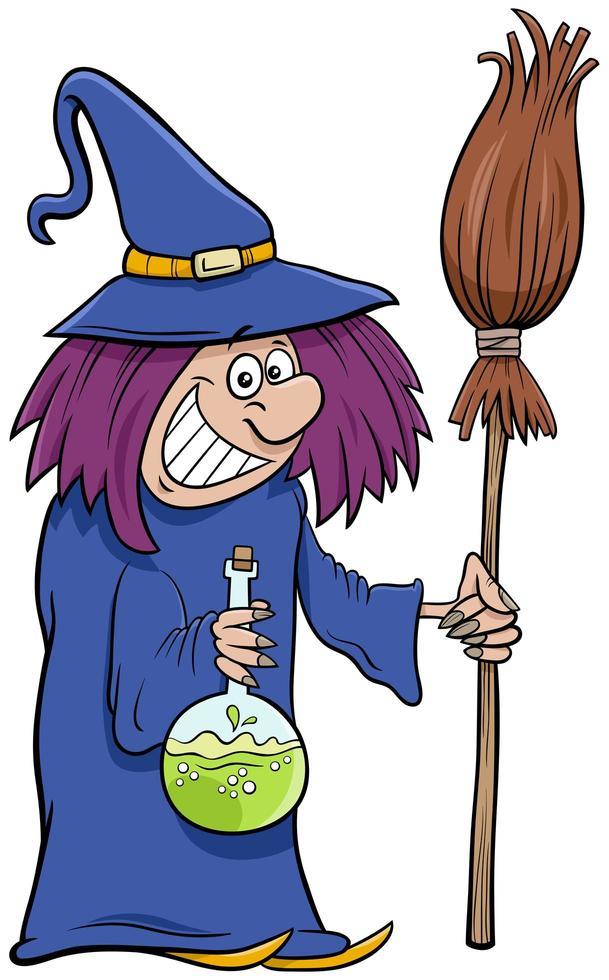 Illustration De Dessin Anime De Personnage Halloween Sorciere Telecharger Vectoriel Gratuit Clipart Graphique Vecteur Dessins Et Pictogramme Gratuit