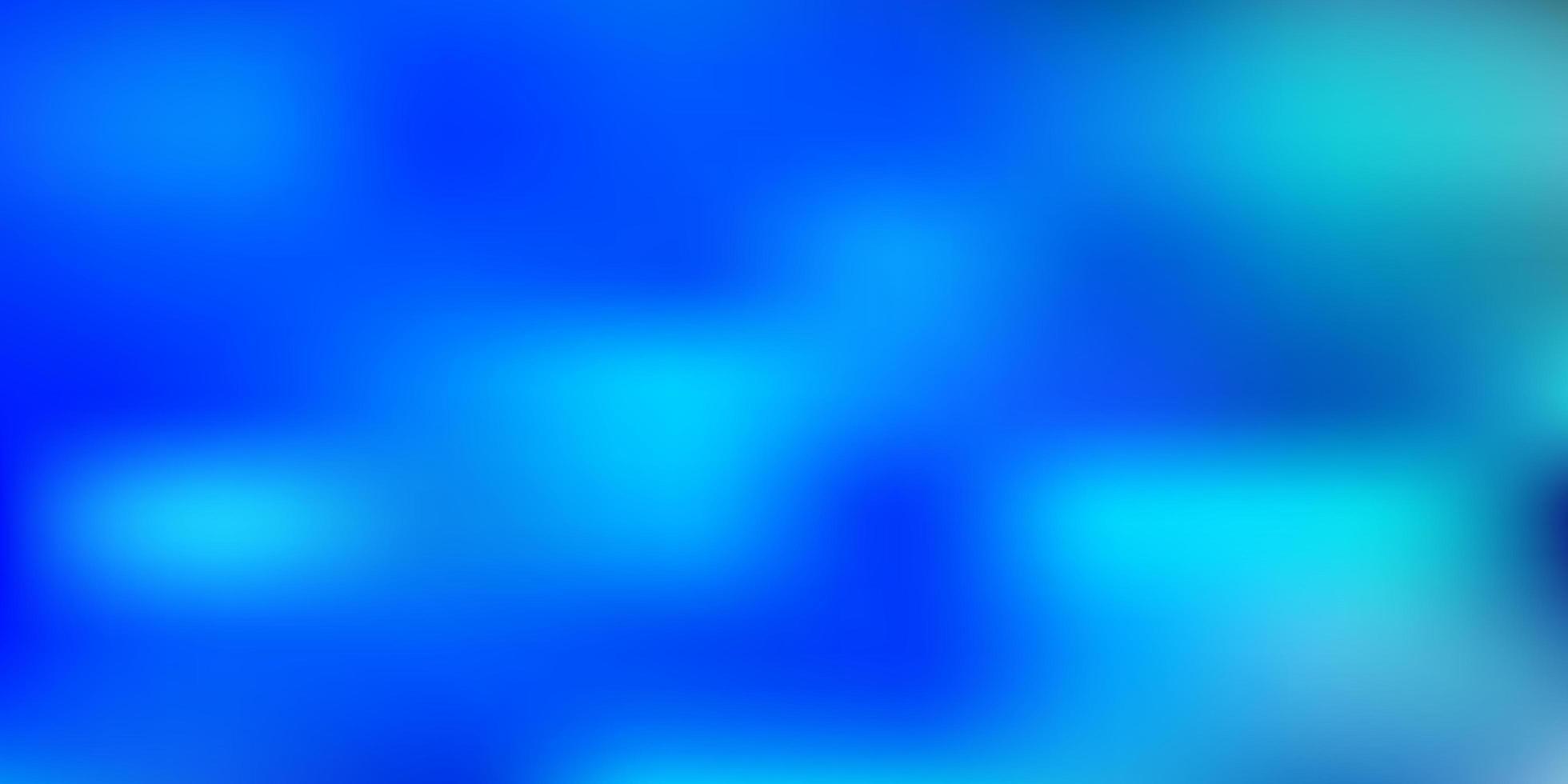 fond flou abstrait bleu clair vecteur