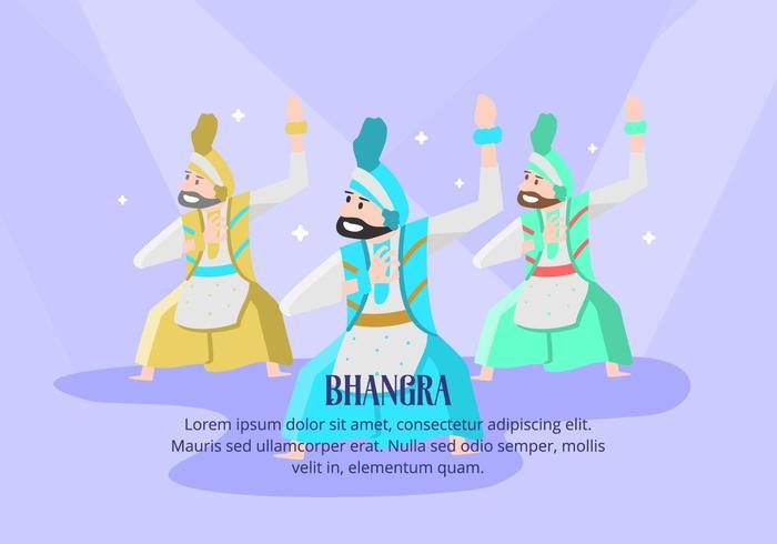 Bhangra Contexte vecteur