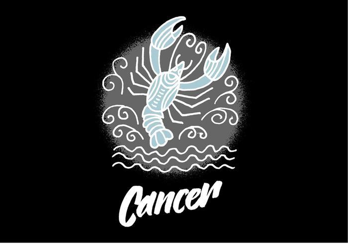 Zodiac Cancer Symbole vecteur