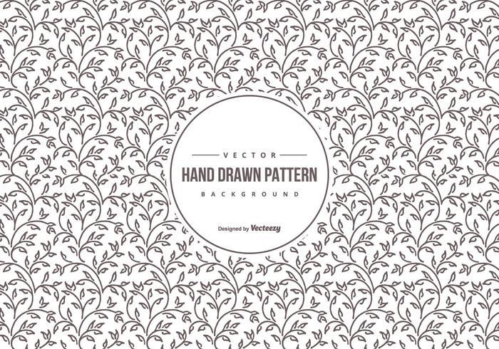 Mignon Hand Drawn Motif vecteur