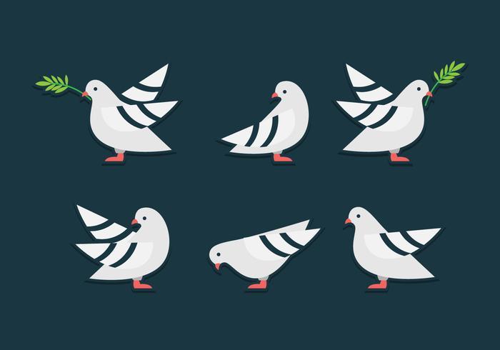 Charité Oiseau Symbole vecteur