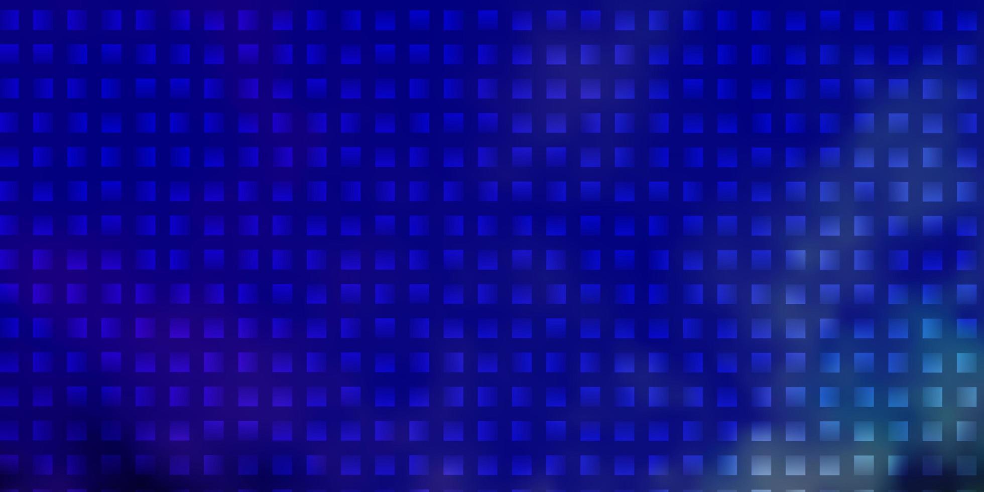 motif bleu dans un style carré. vecteur