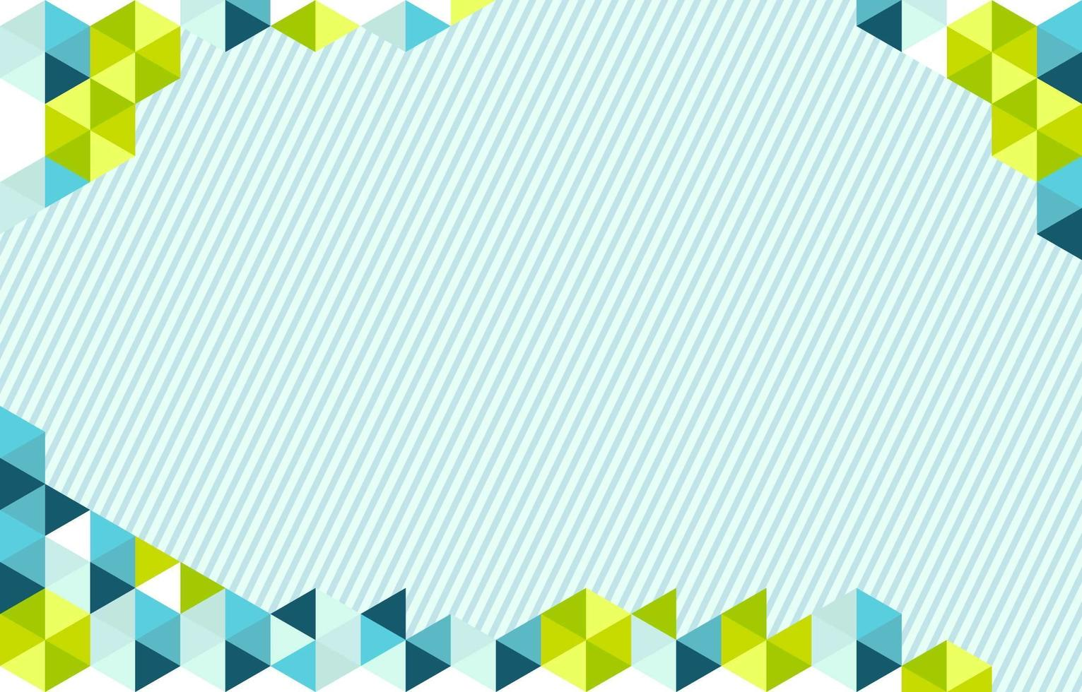 fond de triangle géométrique vecteur