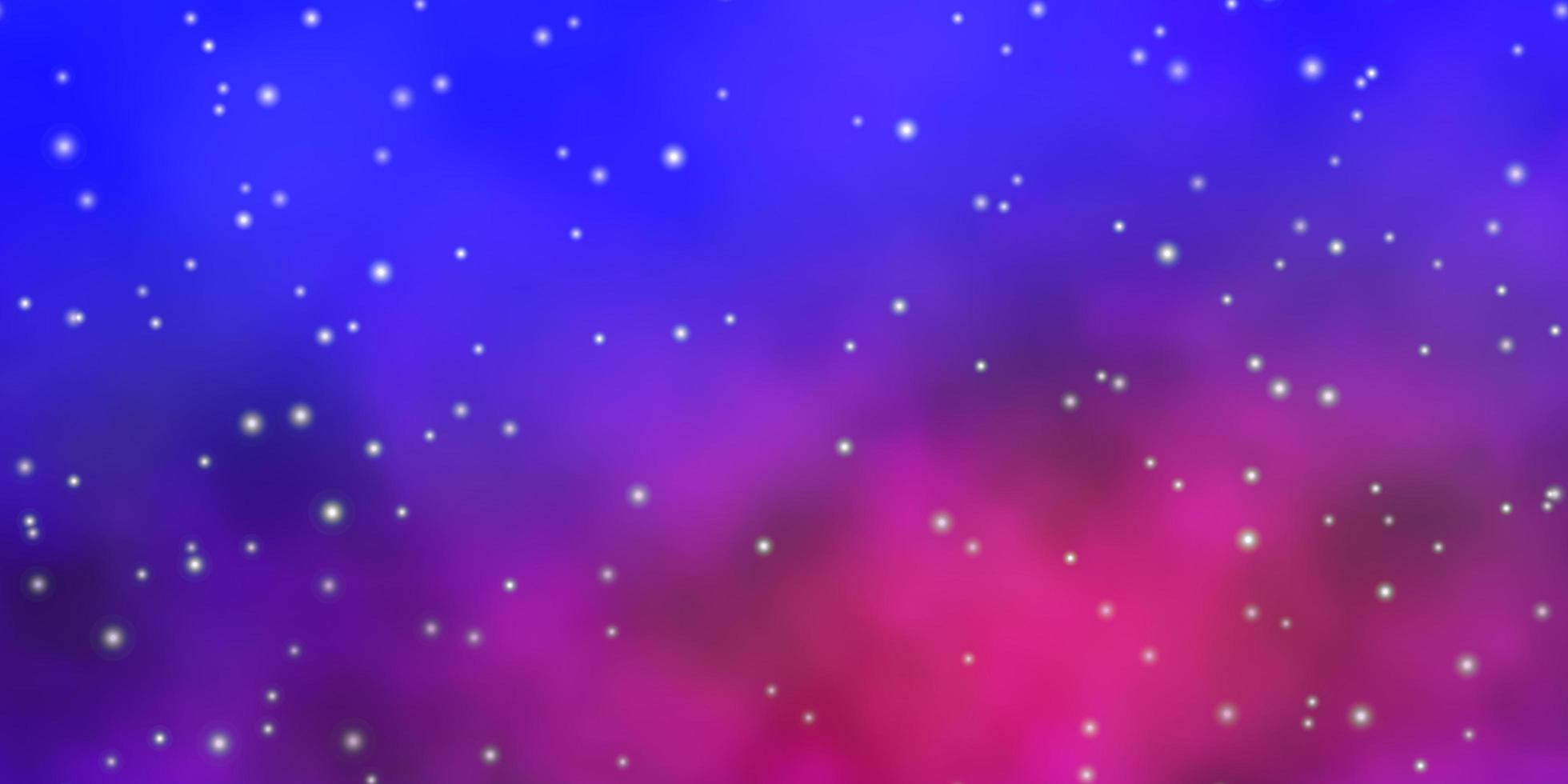 modèle bleu et rose avec des étoiles. vecteur