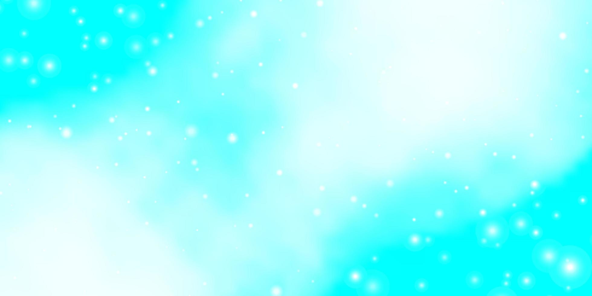 fond bleu clair avec des étoiles. vecteur