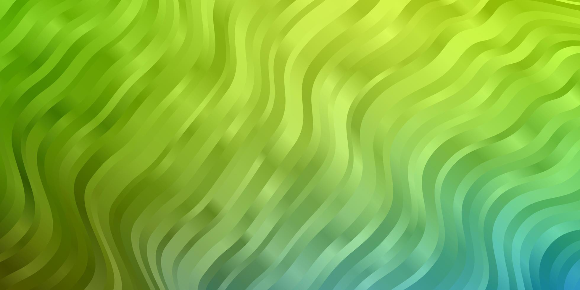 fond bleu et vert avec des courbes. vecteur