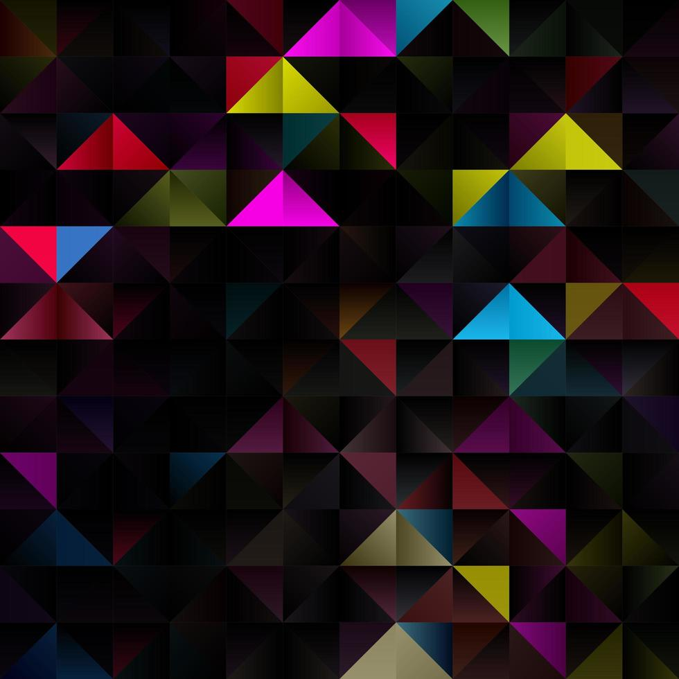 fond de poly faible sur le thème géométrique vecteur