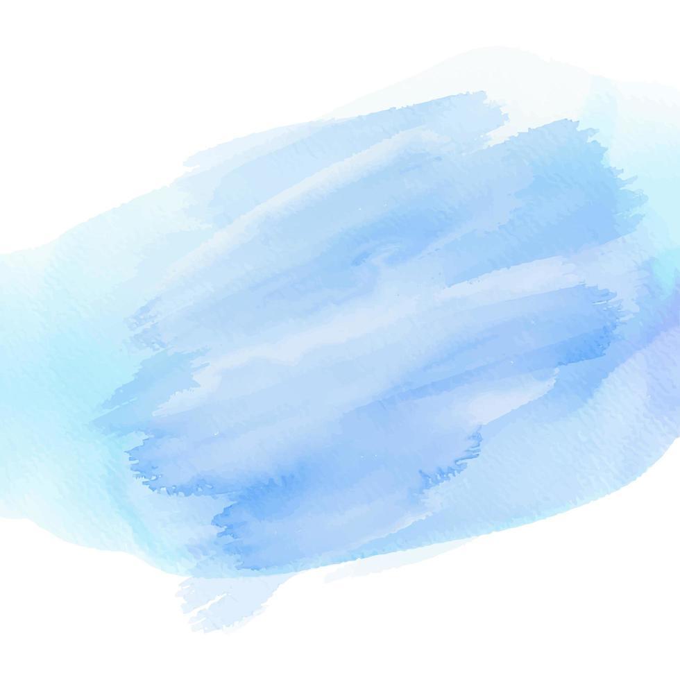 fond de texture aquarelle bleu abstrait vecteur