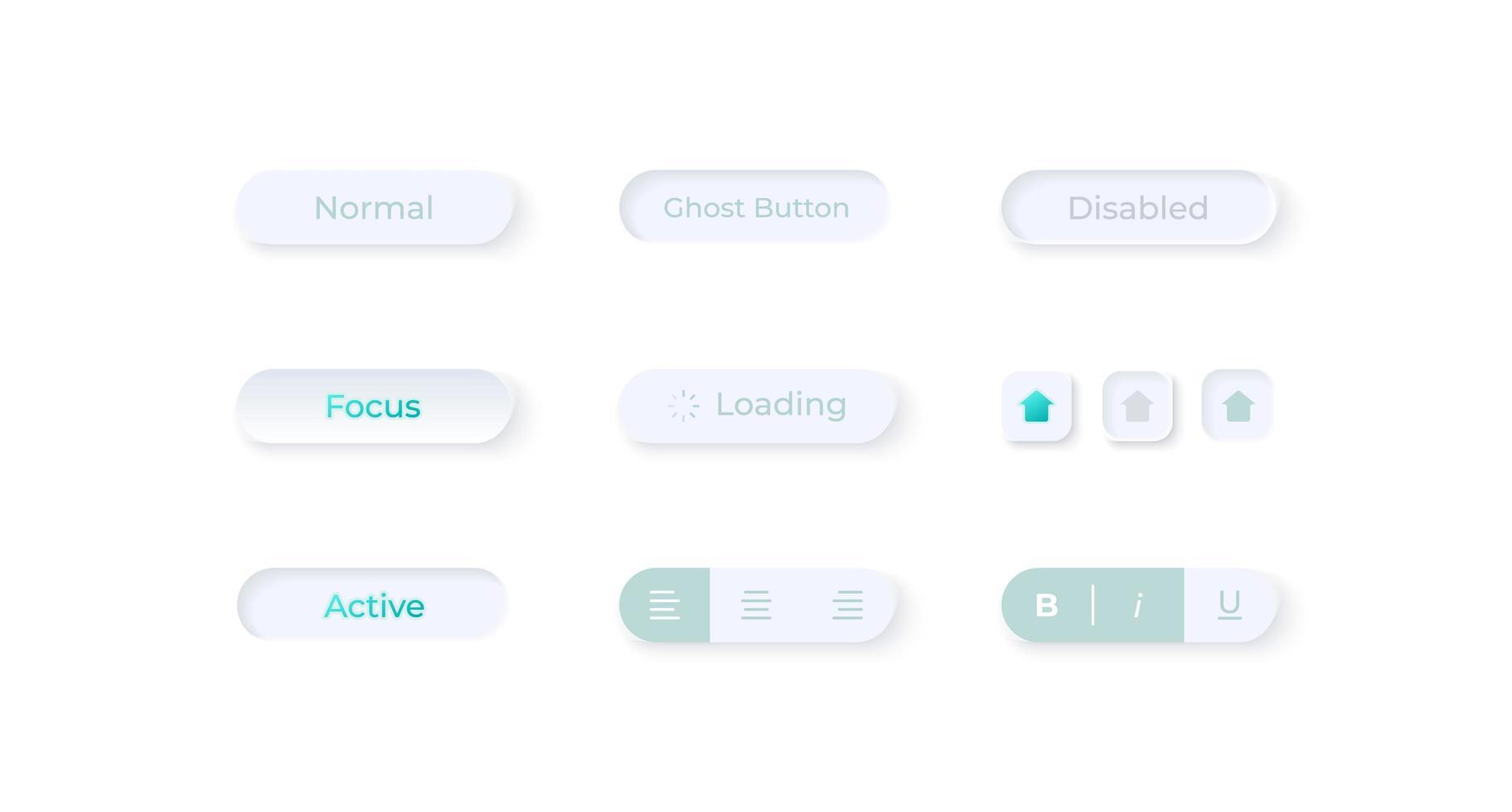 champs d'options, kit d'éléments d'interface utilisateur vecteur