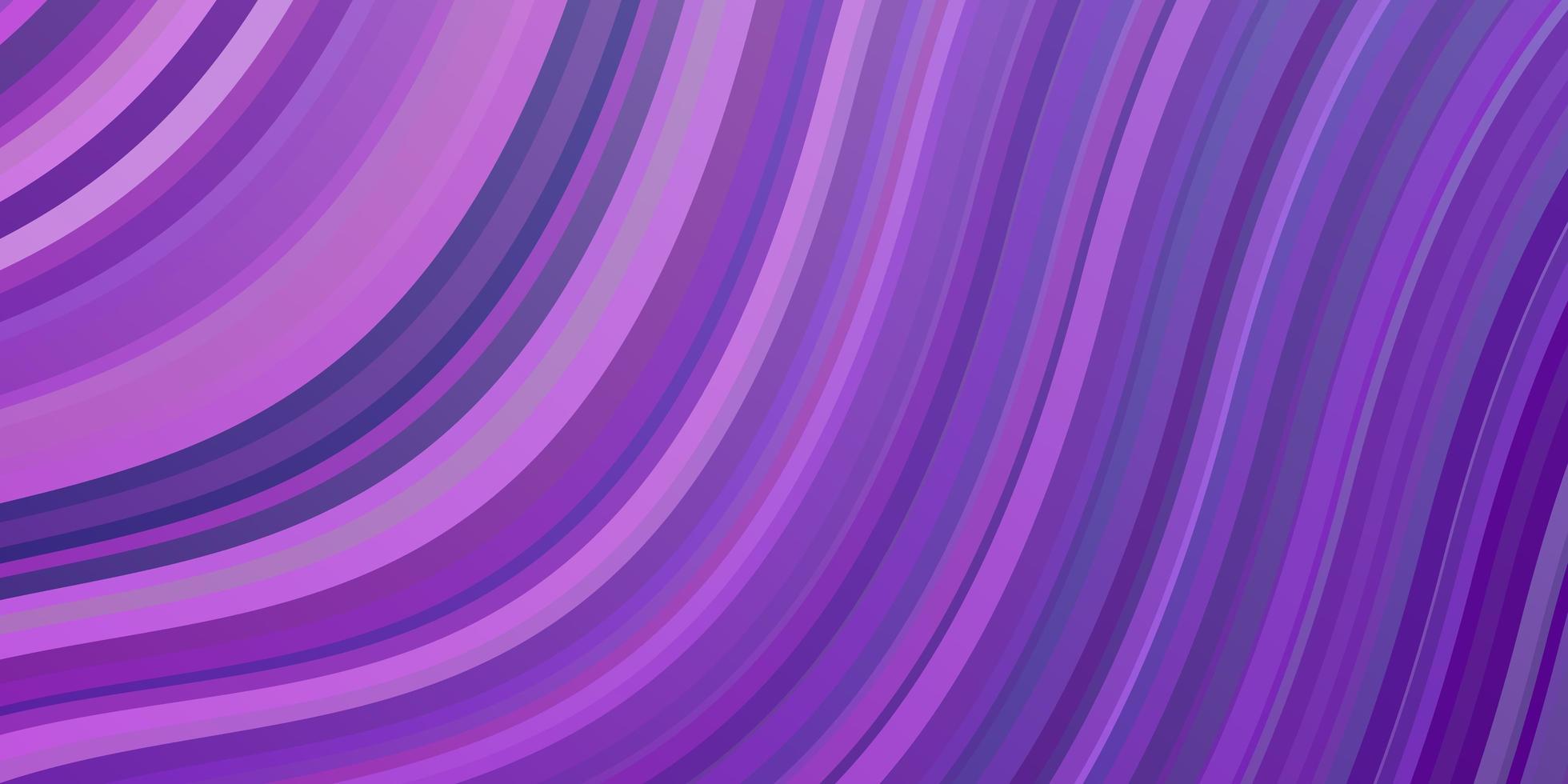 fond violet avec des arcs. vecteur