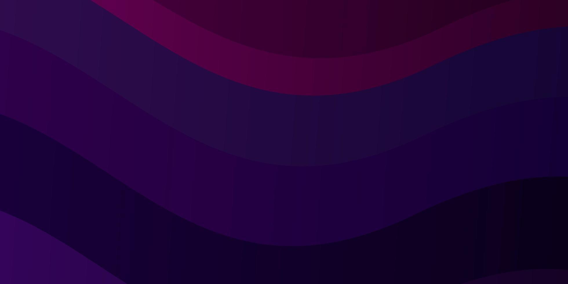 fond violet et rose foncé avec des lignes courbes. vecteur