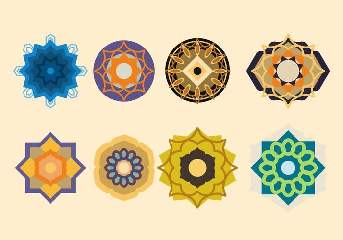 Vecteur Ornement islamique