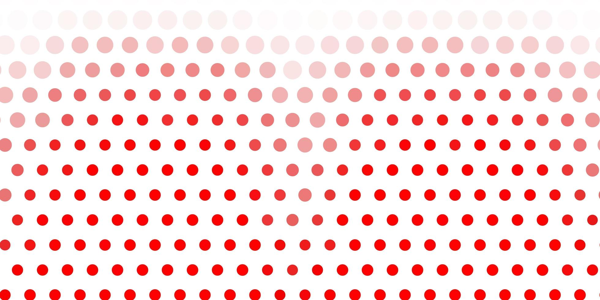 fond rouge clair avec des bulles. vecteur