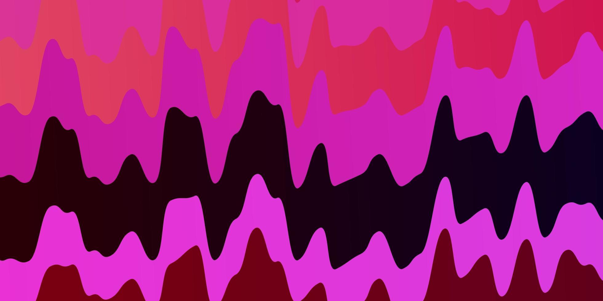 mise en page rose avec des courbes vecteur