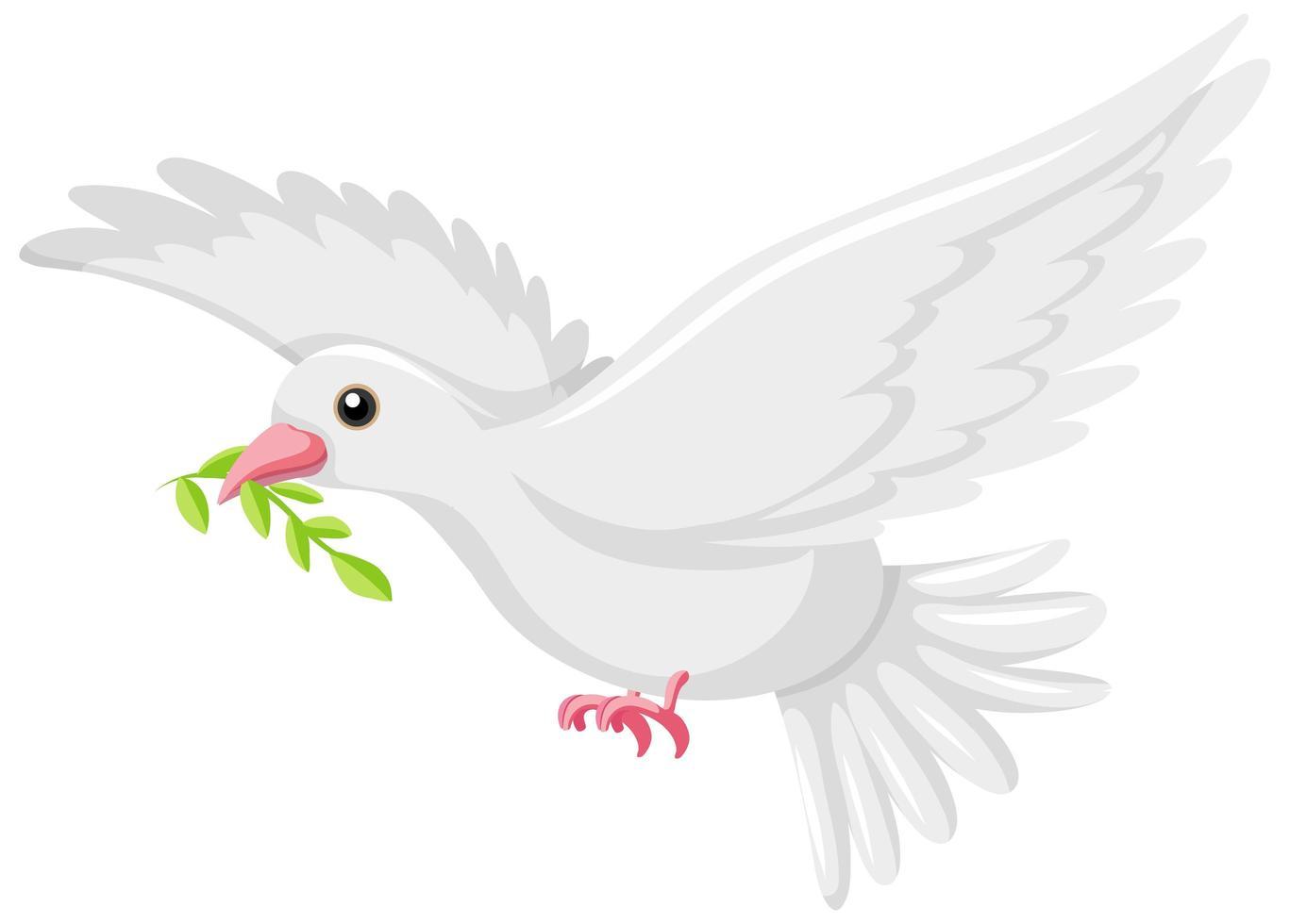 Icone De Colombe Blanche Sur Fond Blanc Telecharger Vectoriel Gratuit Clipart Graphique Vecteur Dessins Et Pictogramme Gratuit