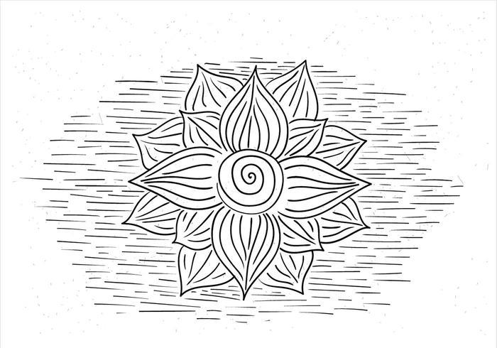 Illustration Vecteur libre Fleur