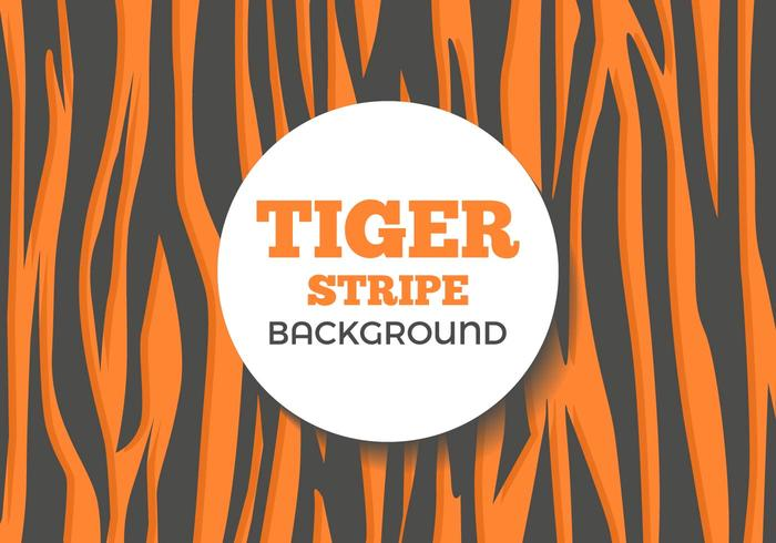 Vecteur de fond gratuit Tiger Stripe