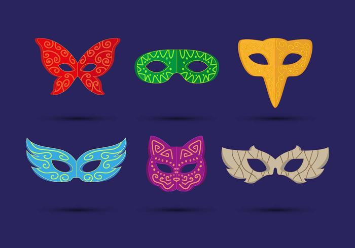 Masquerade Ball Mask Vector
