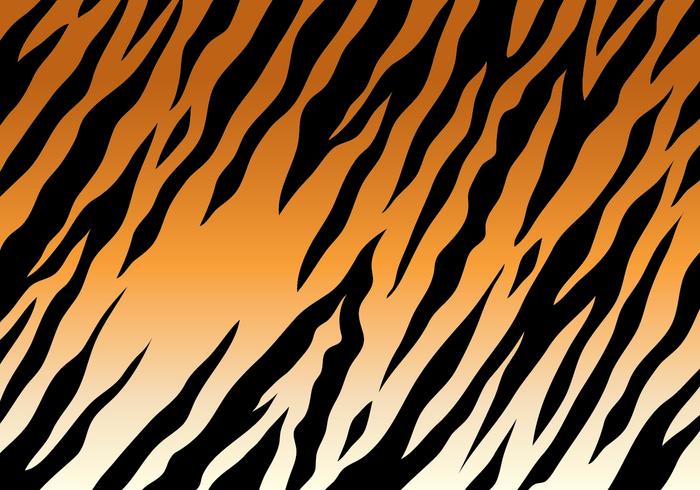 Contexte de tigre rayé vecteur