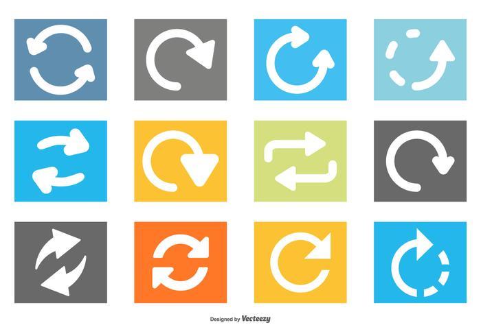 Collection d'icônes vecteur