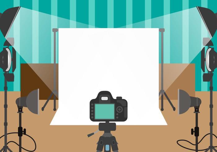 Photographe Studio Vector