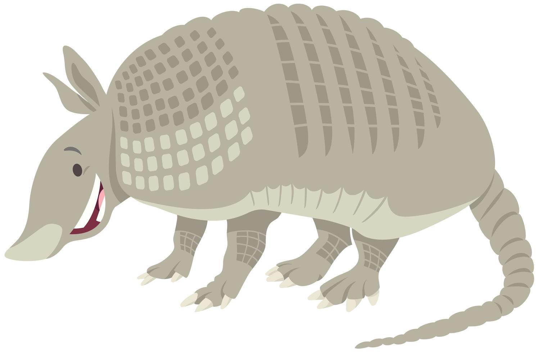 dessin animé animal tatou vecteur