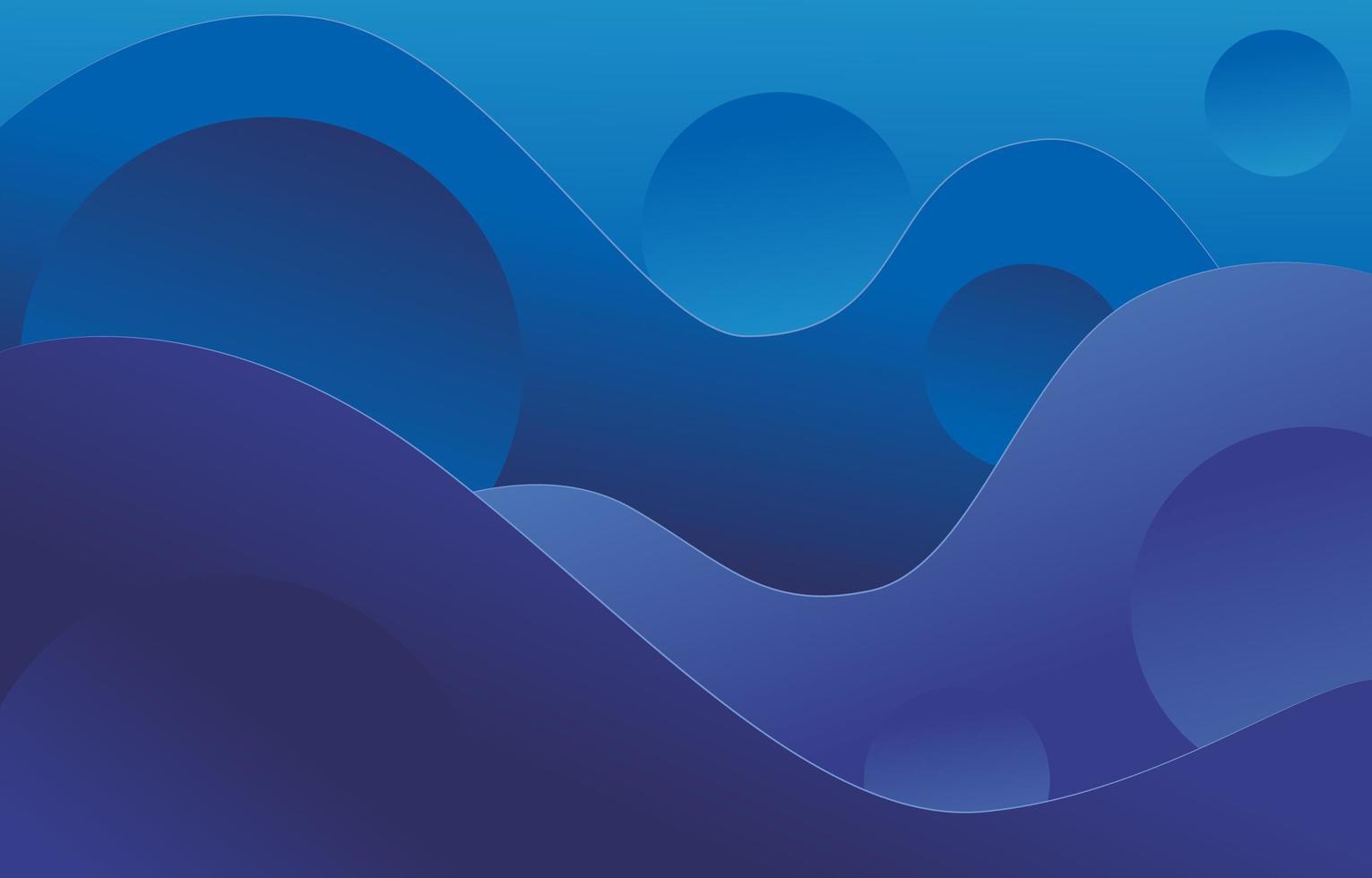 fond dégradé bleu et violet abstrait moderne vecteur
