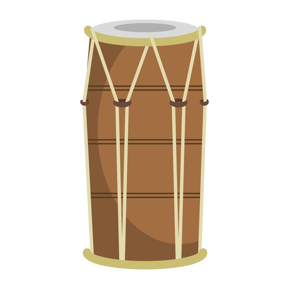 icône d & # 39; instrument de musique de batterie vecteur