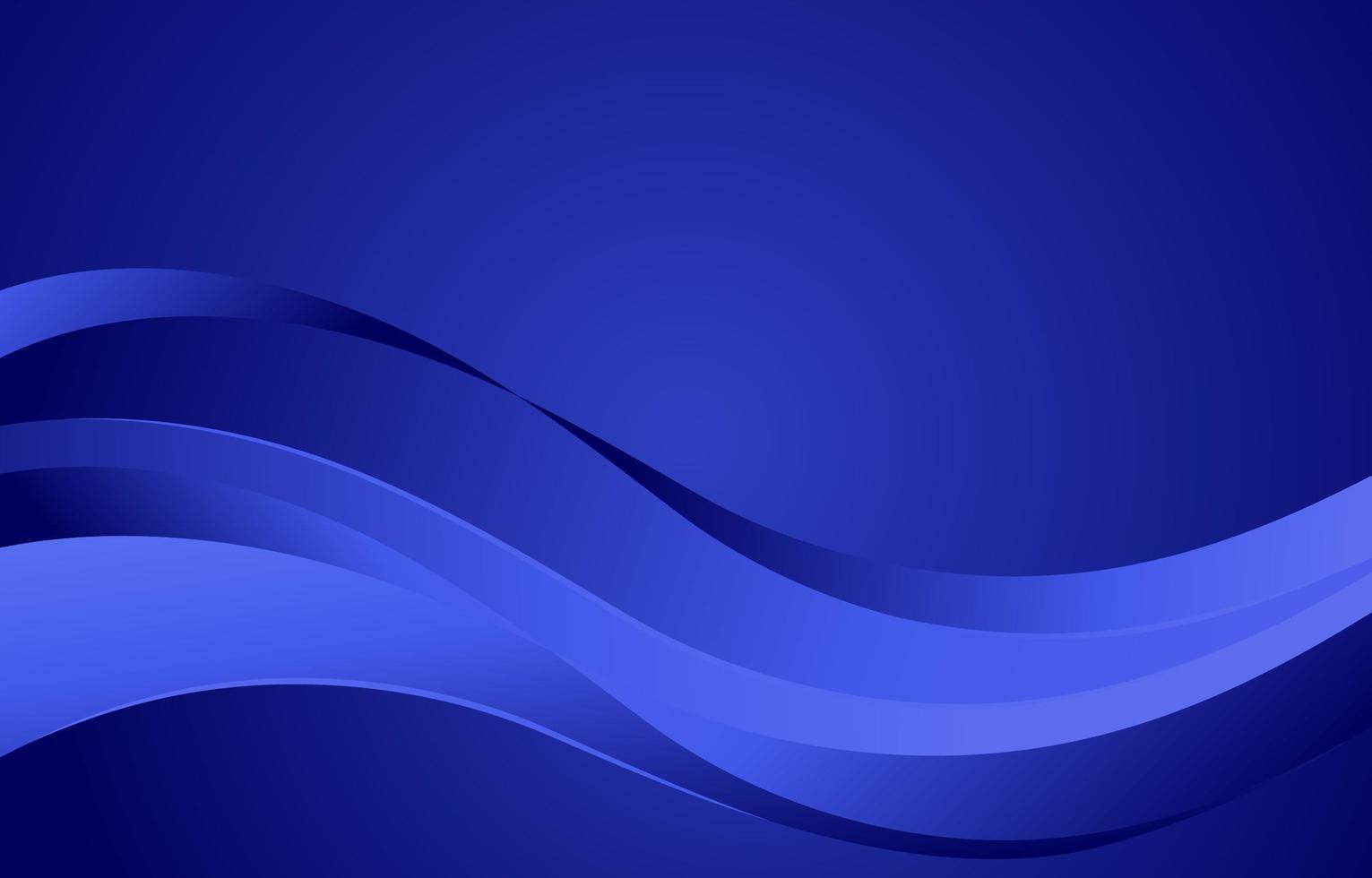 fond de vague bleue vecteur