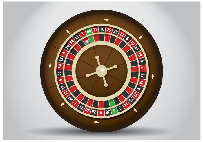 Vecteur de table de roulette gratuit