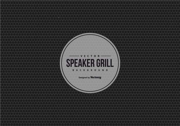 Fond d'écran de fond de haut-parleur vecteur