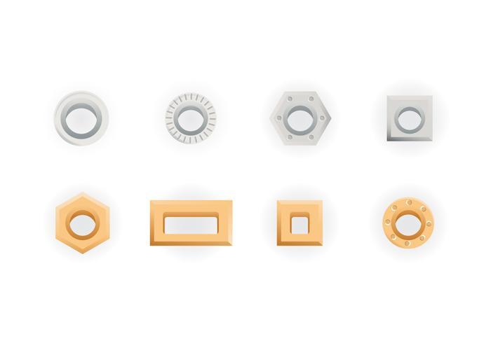 Collection gratuite de vecteurs Eyelet vecteur
