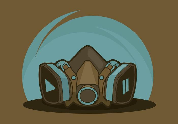 Illustration respiratoire vecteur